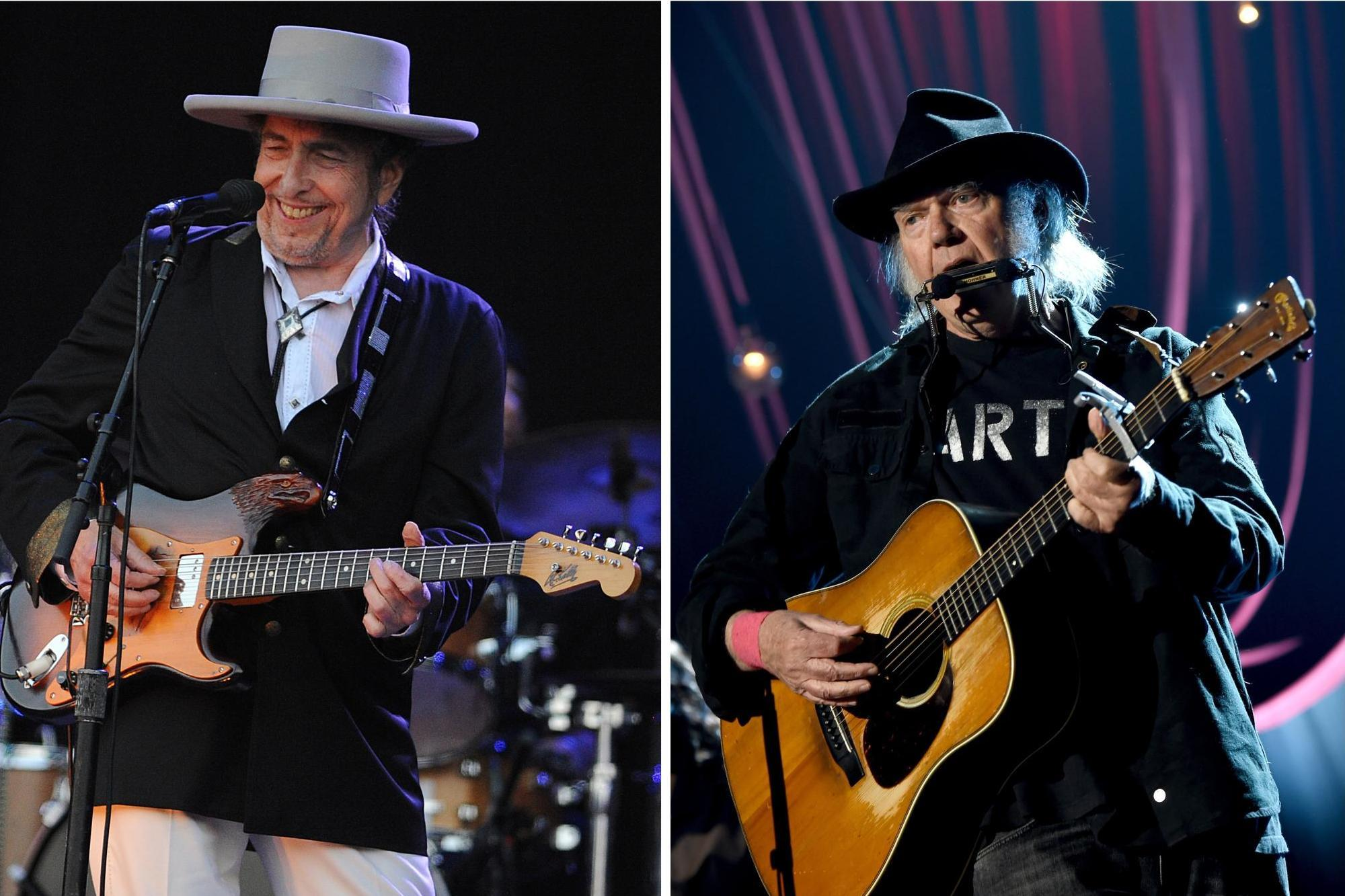 British Summer Time Bob Dylan & Neil Young Ultimate Package - Front Row Events