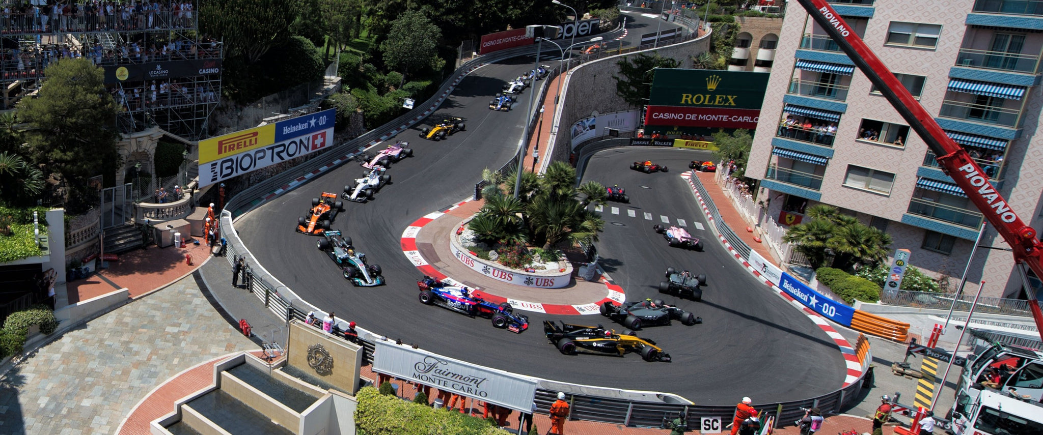 Monaco GP 3 Nights Apartment Stay Nice with Fairmont Hospitality Package - Front Row Events