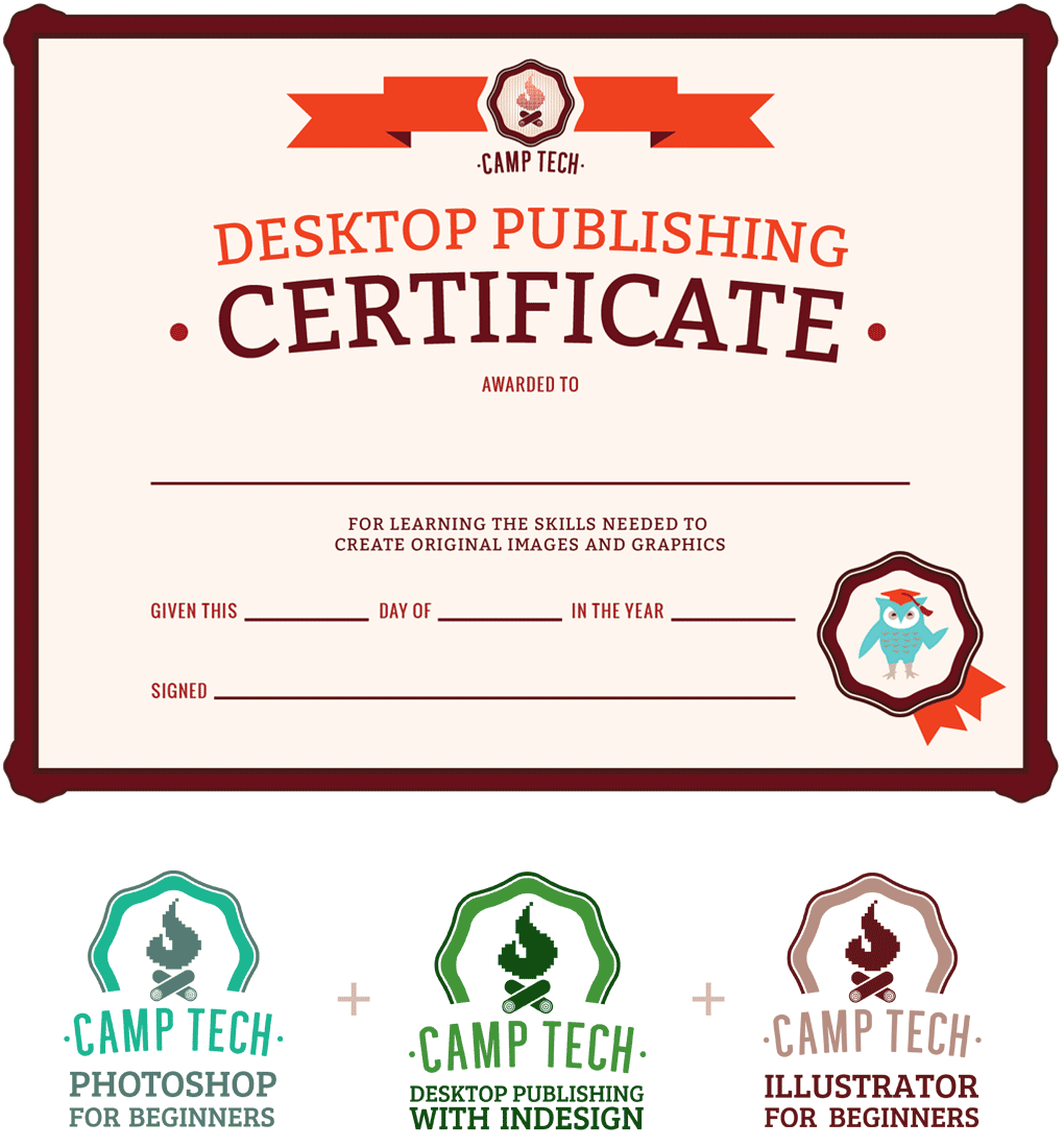 Camp Tech Certificate Program