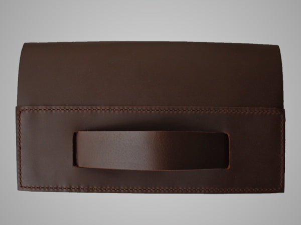 Brown on Brown Medi Clutch