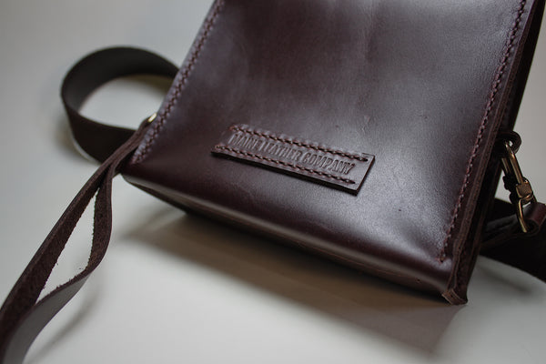 Evening Bag in Dark Brown
