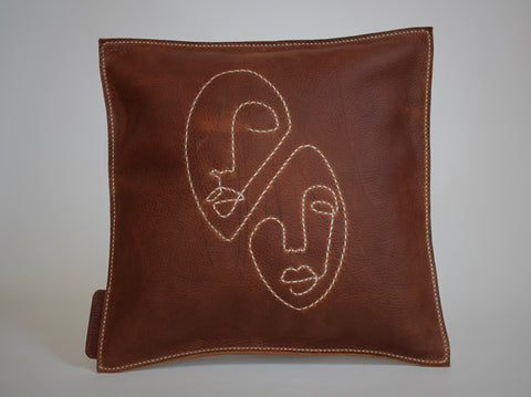 Faces Pillow
