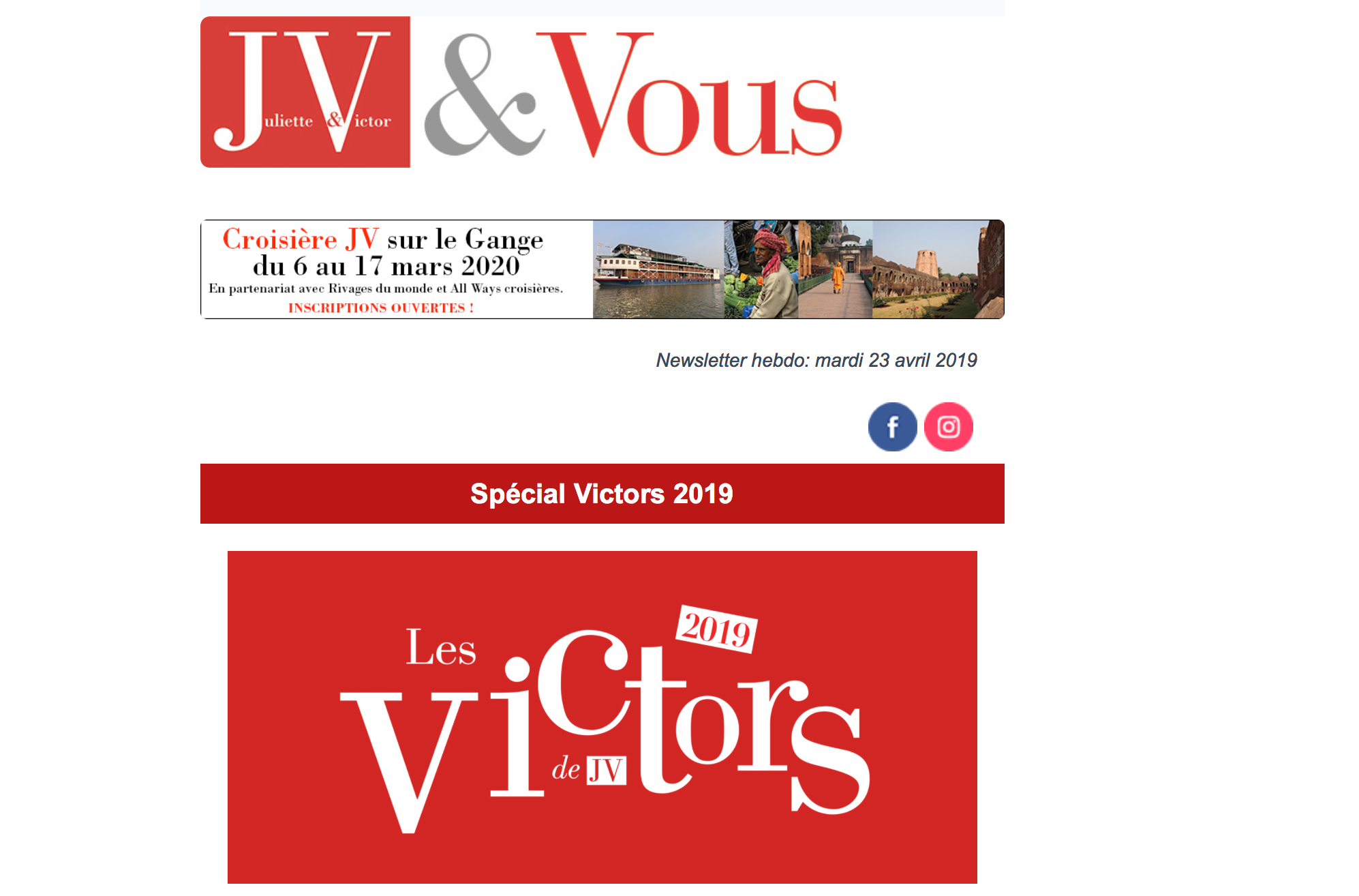 Cocli is selected at Les Victors 2019!