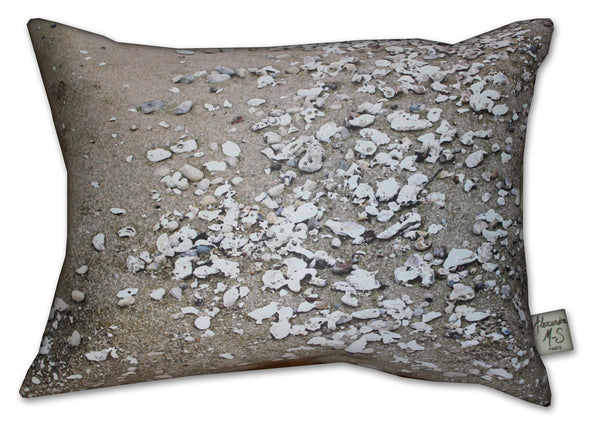 Coquillages Maritime Story Pillow