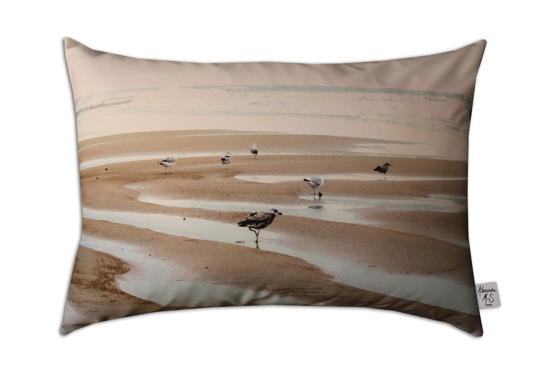 Mouettes - Maritime Story pillow
