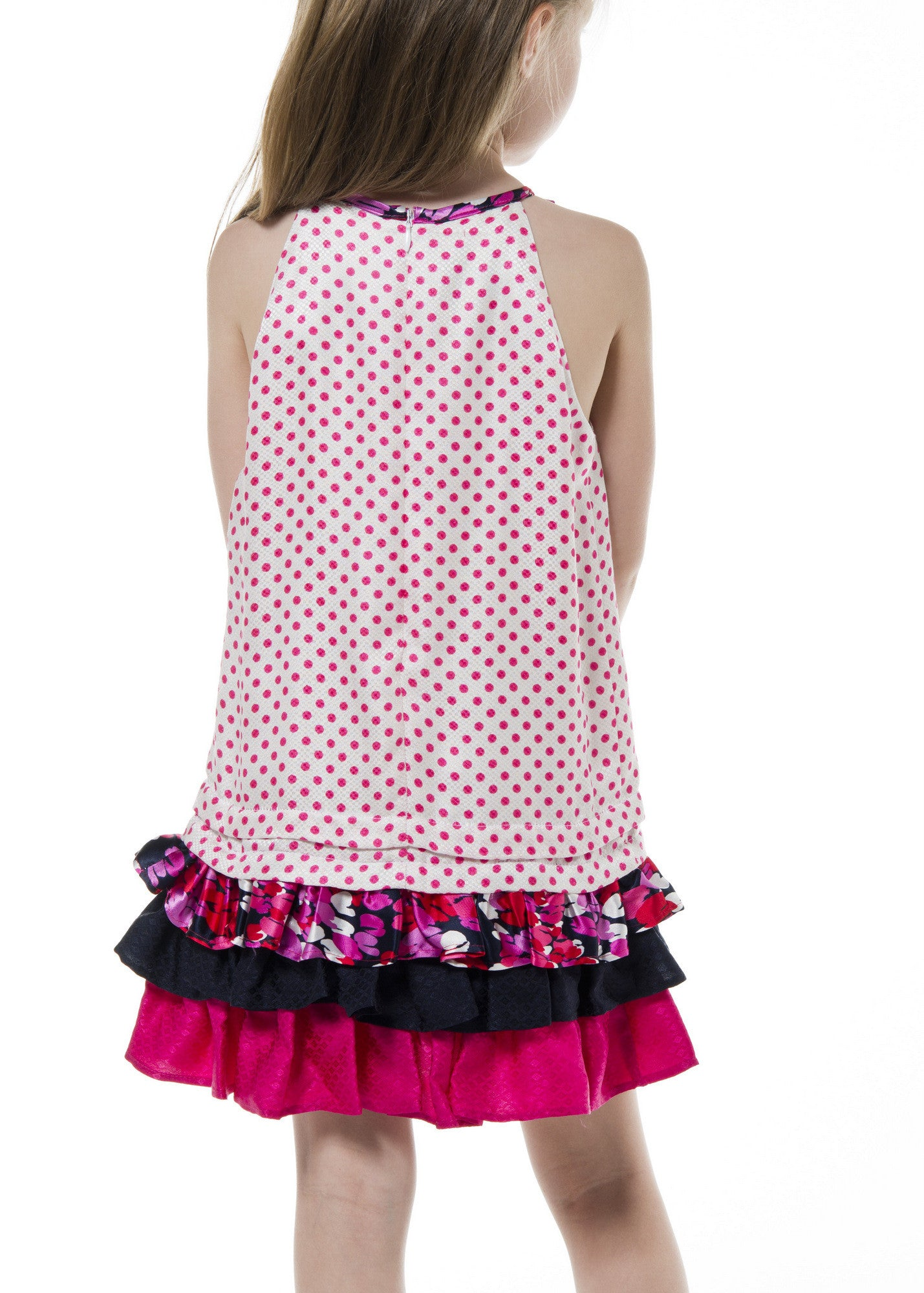 Girl Dress - Polka Dots