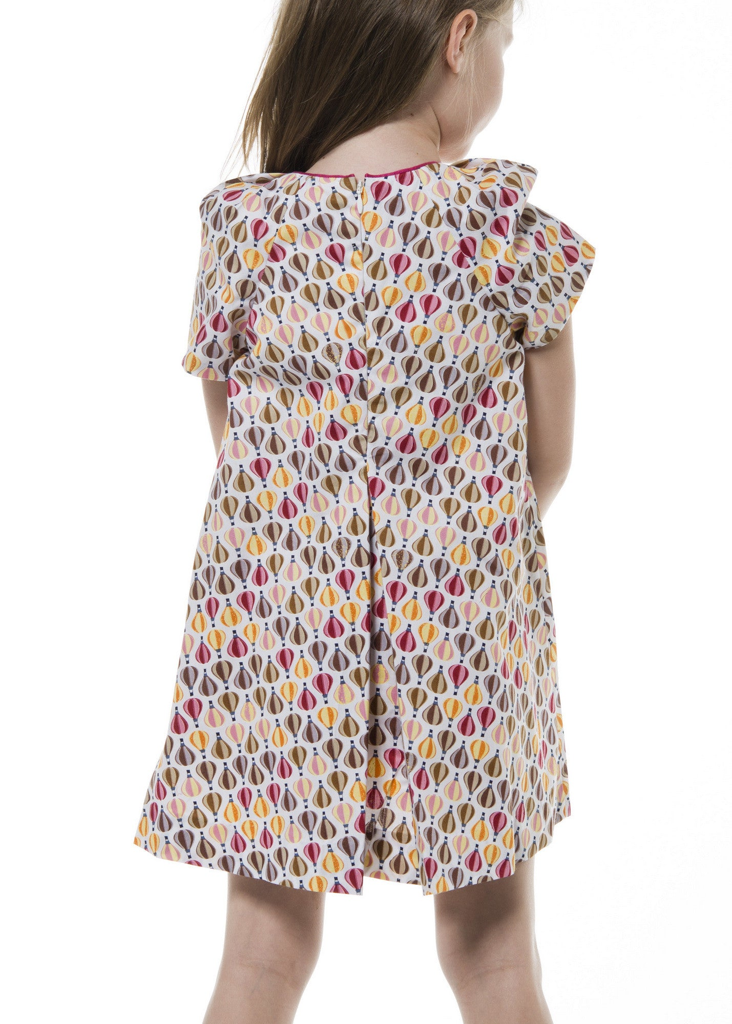 Girl Dress - Balloon Print