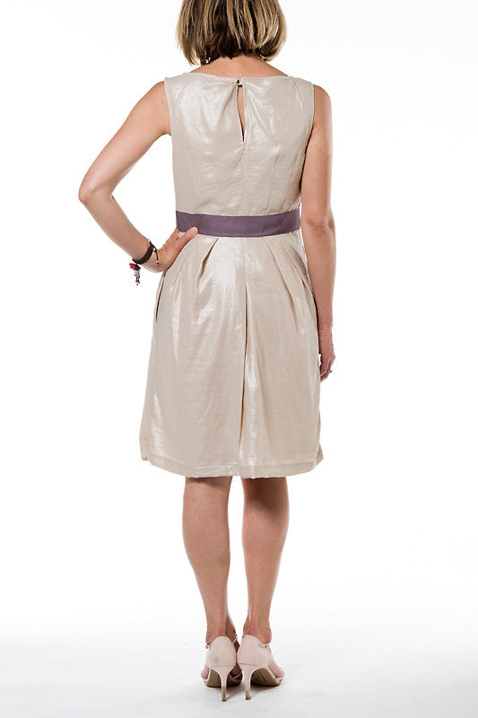 Verona Woman Dress - 1 Silver Beige