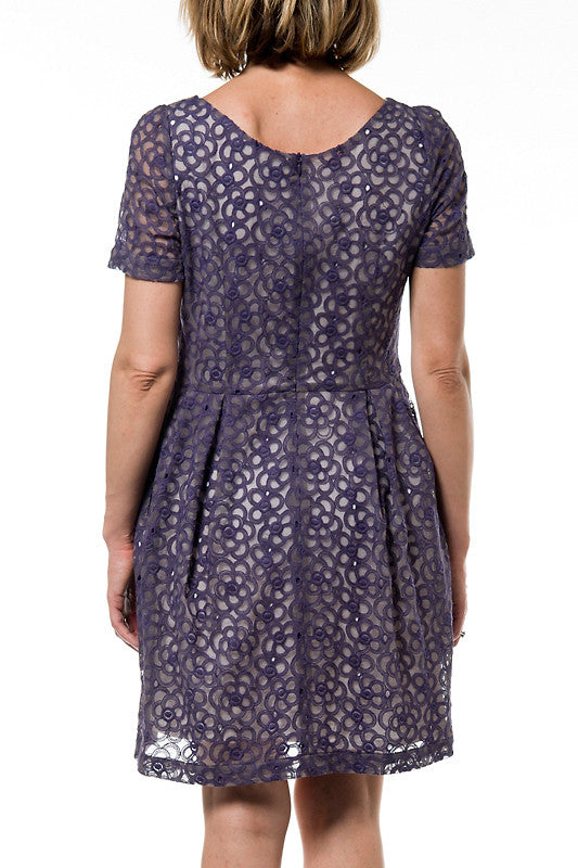 Clémentine Woman Dress - Purple