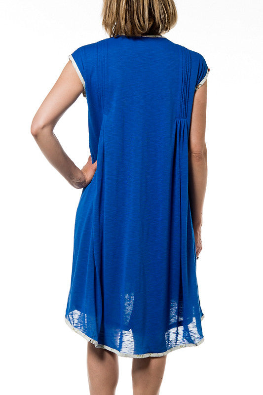 Simplicité Woman Dress - Blue