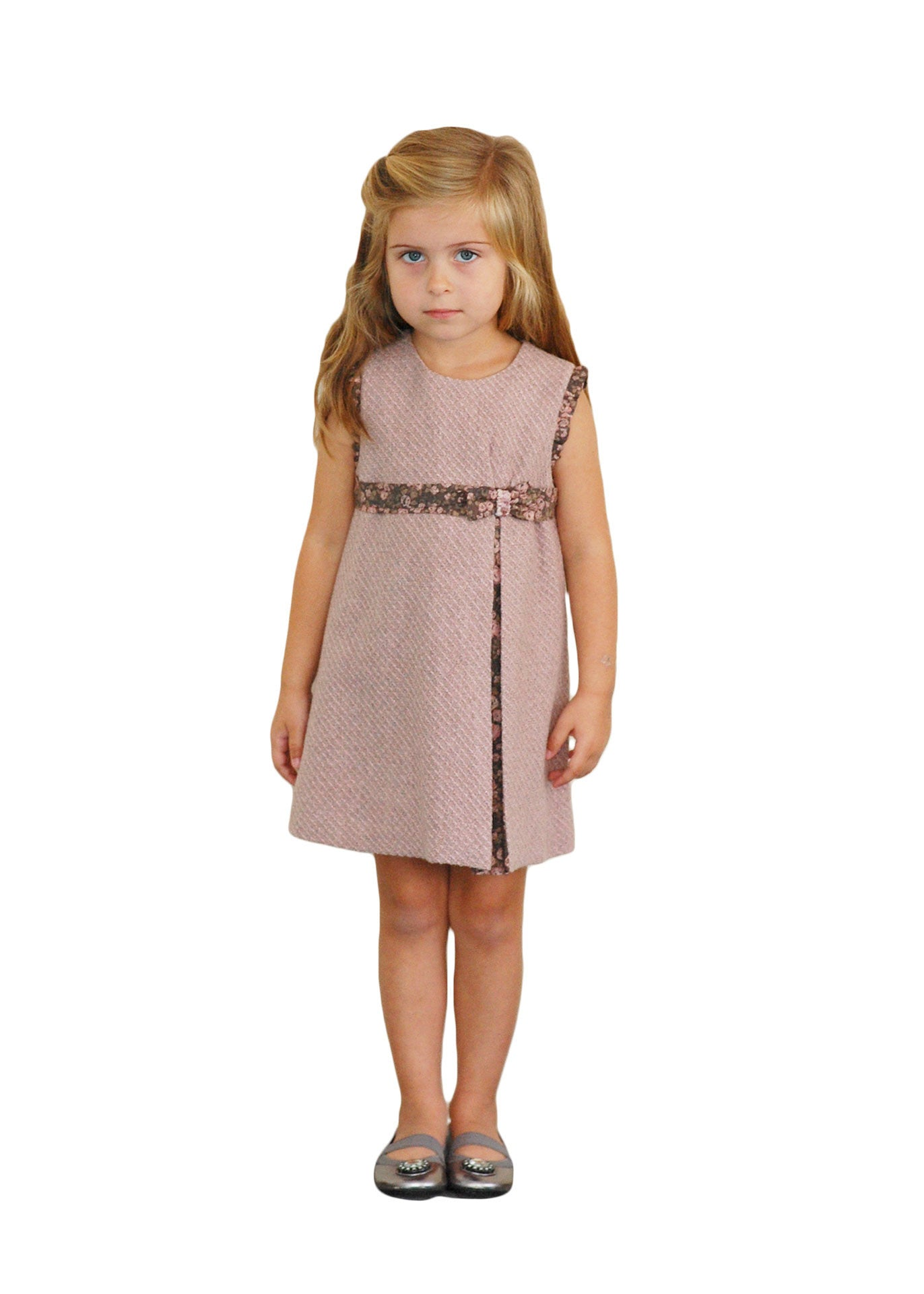 Uniform Girl Dress - Pink