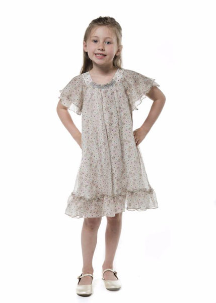 little girl chiffon dress