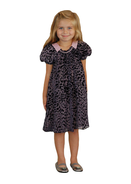 Girl Dress - Purple