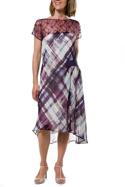 Clarissa Woman Dress- Purple