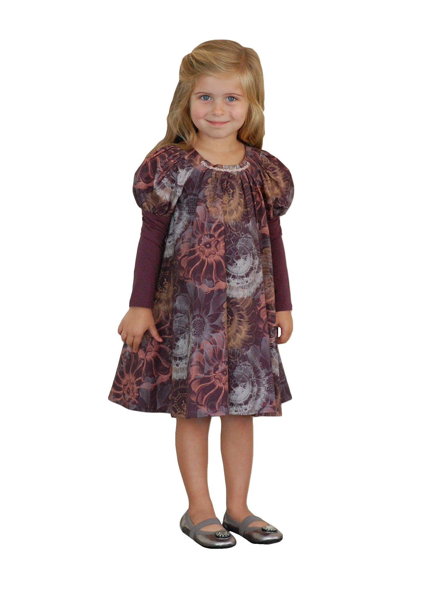 Girl party dress - Twirling girl Dress