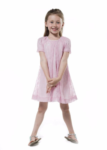 girl dress light pink