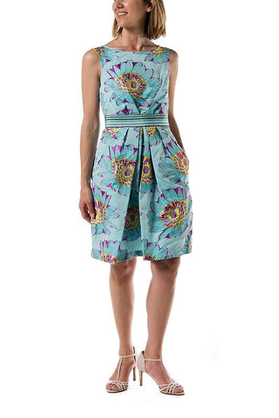 Verona Woman Dress -  3 Turquoise