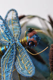 "The Dragonfly Project from ""Stumpwork Embroidery"" by Helen Richman"