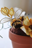 "The Summer Bee Project from ""Stumpwork Embroidery"" by Helen Richman"