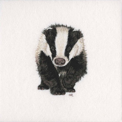 Badger Original Hand Embroidery