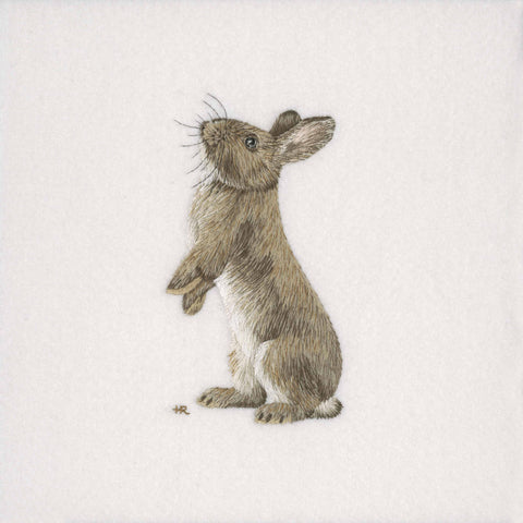Rabbit Original Hand Embroidery