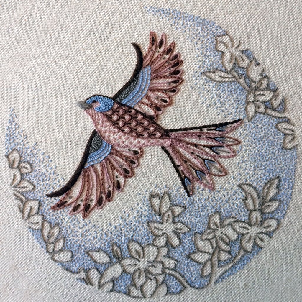 Crewel Work Chaffinch