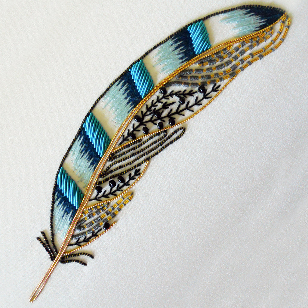 Metalwork Jay Feather