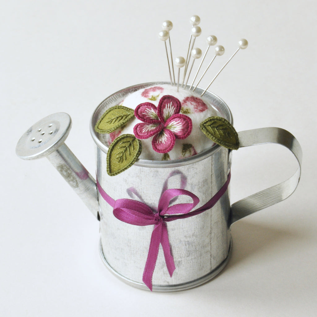 Watering Can Pin Cushion