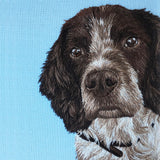 Pet Portrait: Silk Shading Needle Painting
