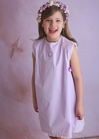 Frances in Lilac Wind Charmer