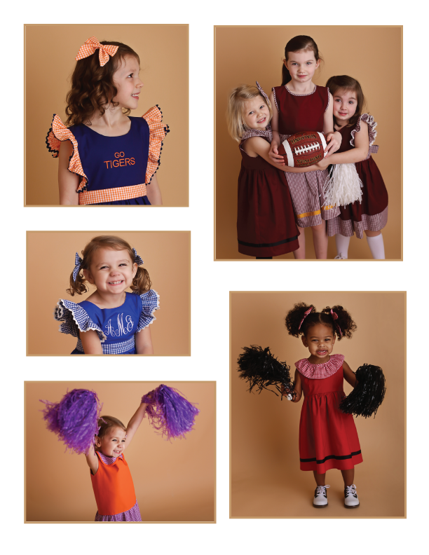 Gameday by Wind Charmer Catalog 2017 - Game day dresses for girls - football