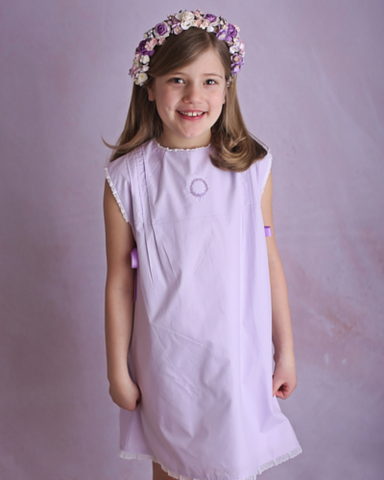 Wind Charmer Frances in Lilac, spring dress, easter dress, pre-order