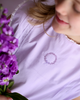 Wind Charmer Frances in Lilac, spring dress, easter dress, pre-order, emboridery