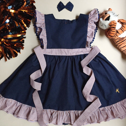 Football Penny Dress - Navy