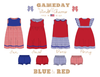 Red & Blue Collection