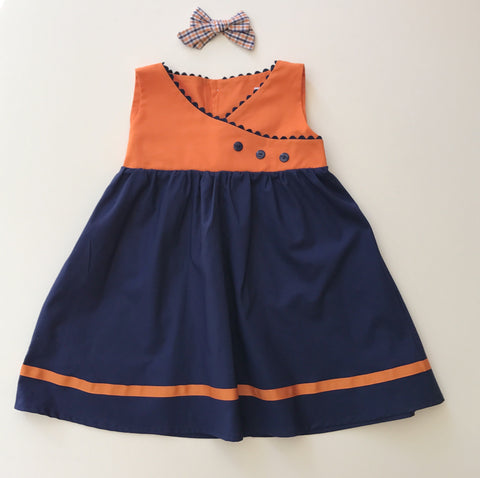 Pamela Dress and Bow {PRE-ORDER}