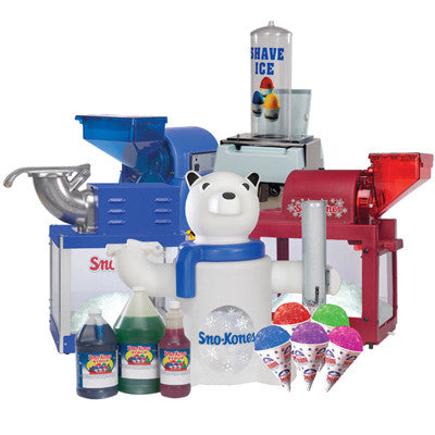 Slush Machine and supplies