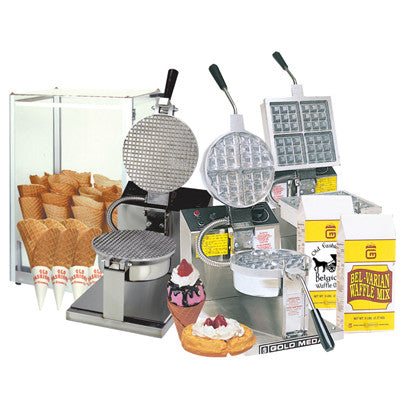 Waffle Machines & Supplies