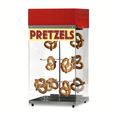 Soft Pretzel Display Cabinet