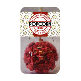 Cherry Popcorn Balls on a Stick