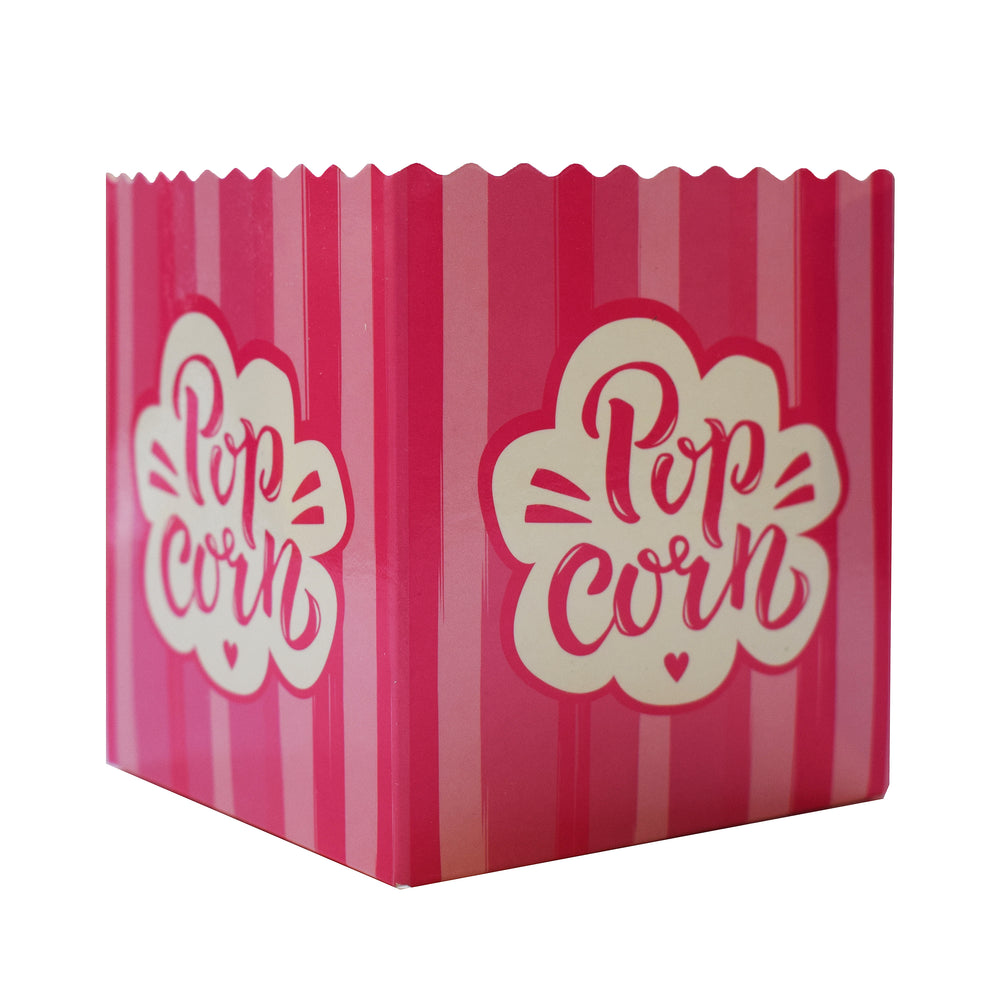 Small Pink Popcorn Boxes