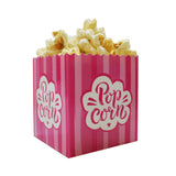 Small Scoop Pink Popcorn Box