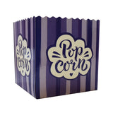 Small Scoop Purple Popcorn Box