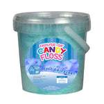 Small Blue Raspberry Candy Floss Tubs 1L