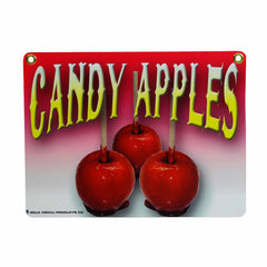 Candy Apples Sign