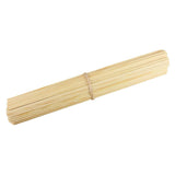 long candy floss wooden sticks with square edges