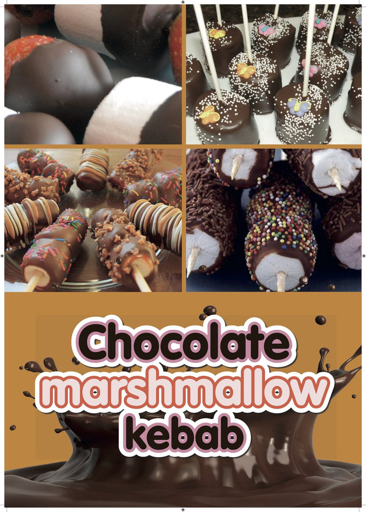 Chocolate Marshmallow Kebab System