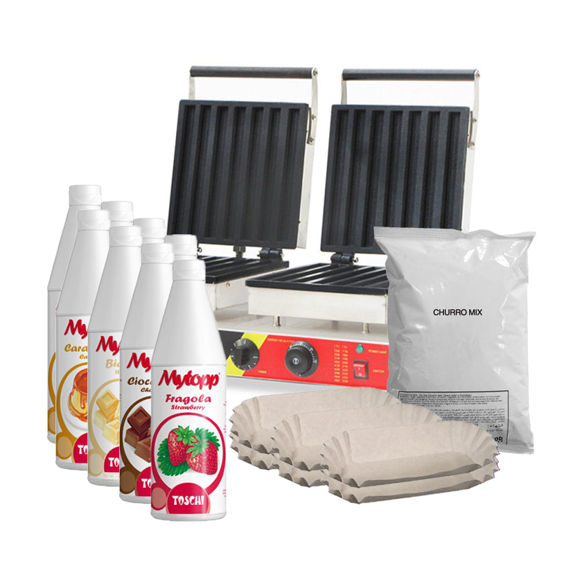 Double Churro Maker Package Deal