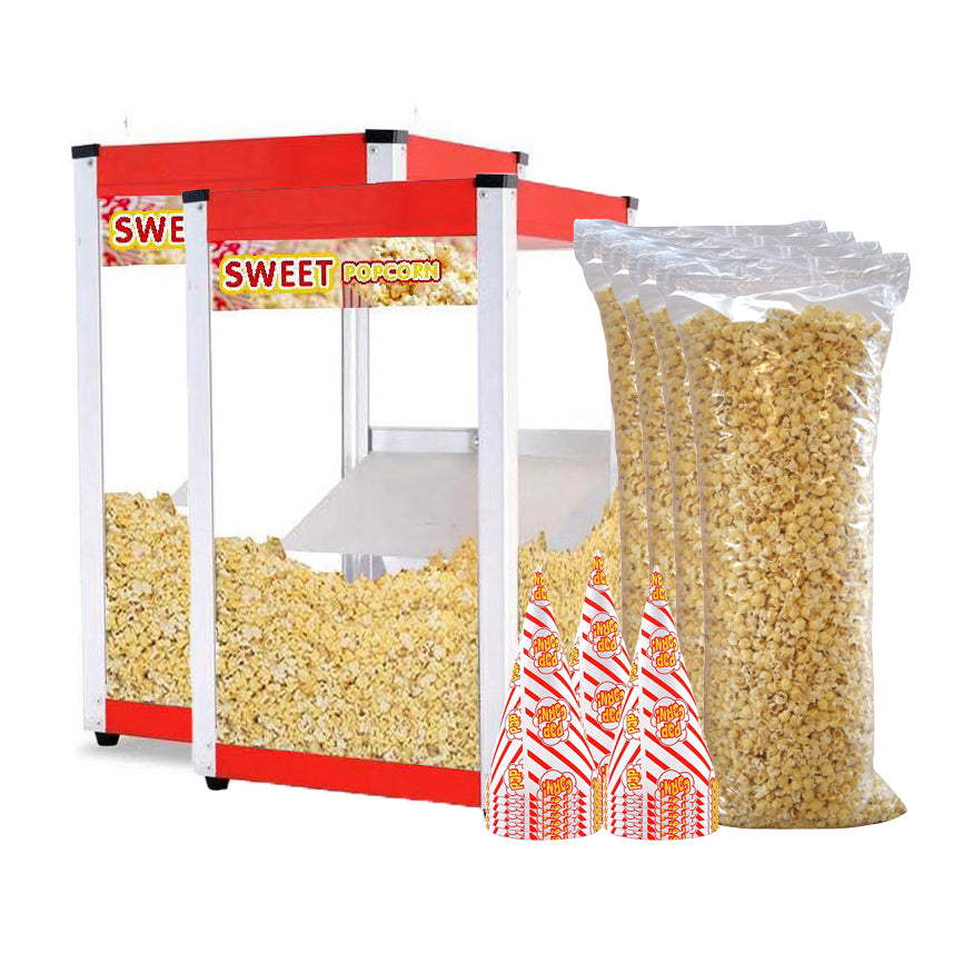 Double Popcorn Warmer Package Deal