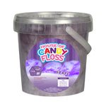 Small Grape Candy Floss Tubs 1L